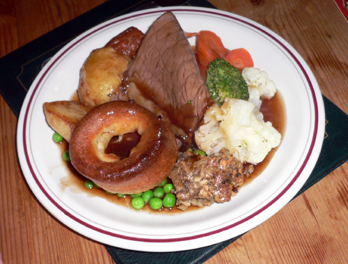 Sunday roast au pub mind le gap danois - La menthe poivree gap ...